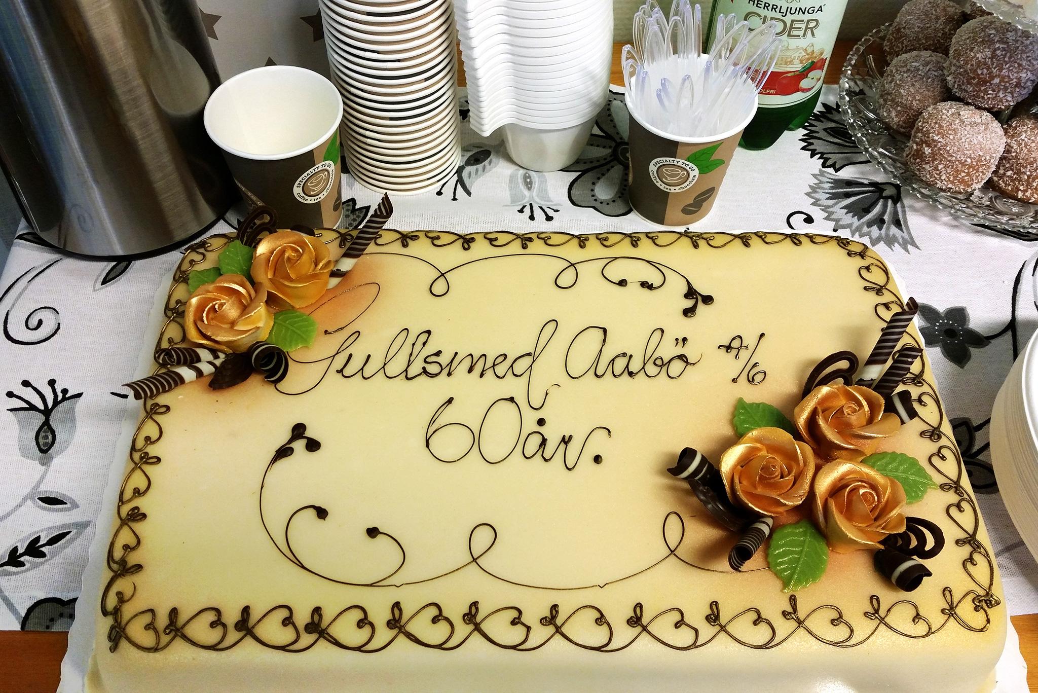 Kake Gullsmed Aabø 60 år