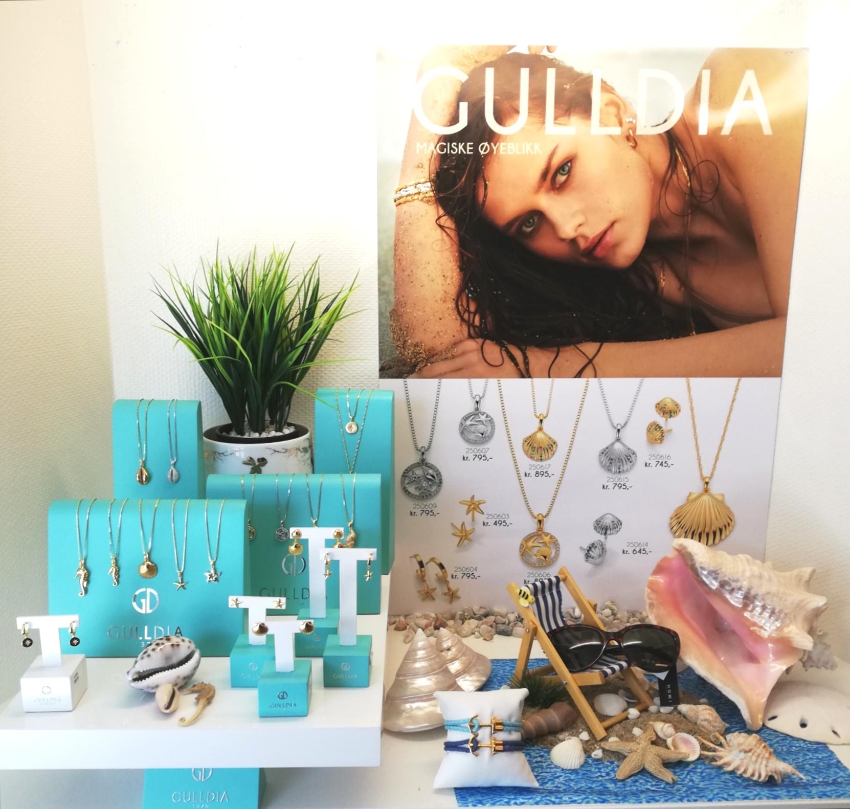 Smykker frå havserien,Gulldia Design as
